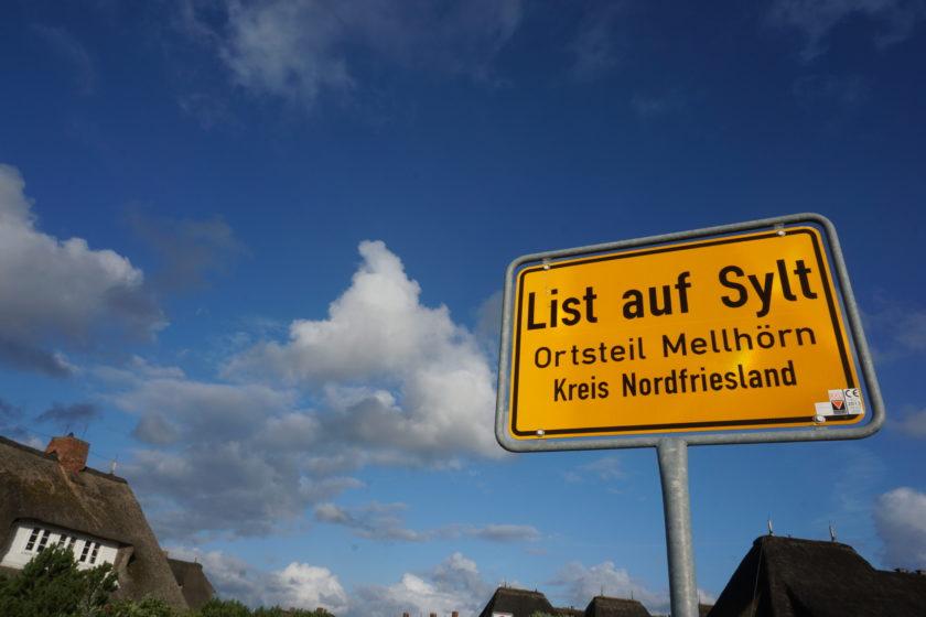 Unser Reiseziel auf Sylt: List