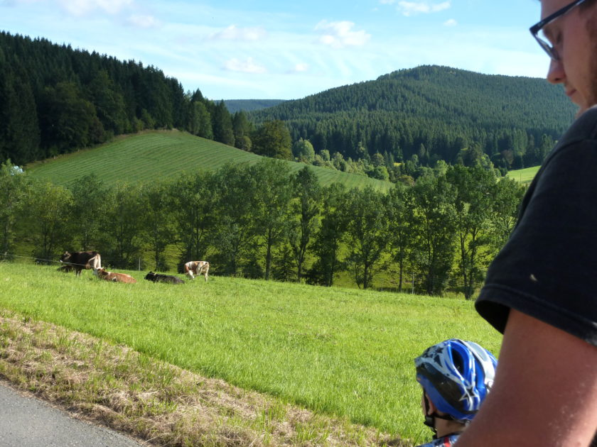 Ausflug daheim Erzgebirge